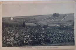 Nogent-l'Abbesse - Vue Générale Vers La Gare Et Le Cimetière - Otros Municipios