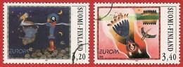 Finnland / Suomi Finland  1997 Mi.Nr. 1378 / 1379 , EUROPA CEPT Sagen Und Legenden - Gestempelt / Fine Used / (o) - Unclassified