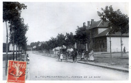 58  FOURCHAMBAULT   AVENUE DE LA GARE - Sonstige Gemeinden
