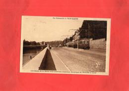 G1911 - LYON - D69 - Les Quais De La Saône Et Le Nouveau Tramway électrique De Neuville à LYON - Other
