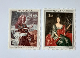 N° 874 Et 875        Antoine 1er  -  Marie De Lorraine - Unused Stamps