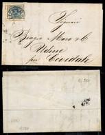 ANTICHI STATI ITALIANI - LOMBARDO VENETO - 45 Cent (22) Su Lettera Da Milano A Cividale Del 31.5.58 (400) - Non Classés