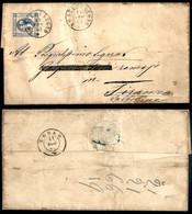 ANTICHI STATI ITALIANI - LOMBARDO VENETO - Ponte Di Legno (P.ti 7) - 15 Cent Litografico (13 - Regno) Su Lettera Per Tir - Non Classés