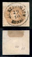 ANTICHI STATI ITALIANI - LOMBARDO VENETO - LEVANTE AUSTRIACO - Alexandrien Recom (P.ti 8) - 15 Soldi (45) Usato Su Framm - Non Classés