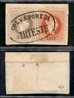 ANTICHI STATI ITALIANI - LOMBARDO VENETO - LEVANTE AUSTRIACO - Col Vapore Da Trieste (P.ti 10) - 25 Kreuzer (40 II) + 5  - Non Classés