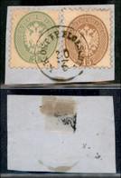 ANTICHI STATI ITALIANI - LOMBARDO VENETO - LEVANTE AUSTRIACO - K.K. Ost. F.P. Ploeschti (P.ti 12) - 3 Soldi (43) + 15 So - Non Classés