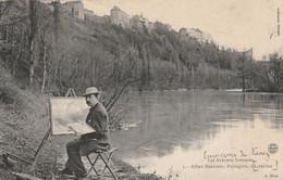 """Le Peintre """"Alfred RENAUDIN"""" Paysagiste à Liverdun. L'un Des Peintres Les Plus Reconnus En Lorraine Pour Ses Paysages. - Liverdun"""