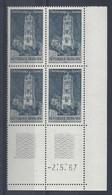 RODEZ N° 1504 - Bloc De 4 COIN DATE - NEUF SANS CHARNIERE - 2/5/67 - 1960-1969