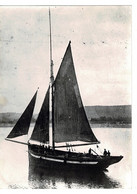 PHOTO (17 X 12,6 Cm) -barque Sur Fleuve , Lieu? - Plaatsen