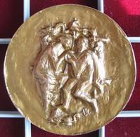 Médaille En Bronze De Mariage 1987 - Other