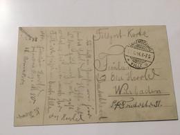 Luxembourg Carte Feldpost 1914 - Errors & Oddities