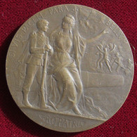 Medaille PROPATRIA Préparation Militaire, Force Courage, Par Grandhomme. - Andere