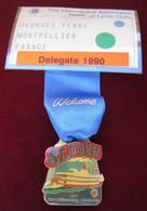 Lions Clubs International à St. Louis, Missouri 1990, Délégué G. Perre, Montpellier France - Organisaties