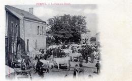58   OUROUX LA FOIRE AUX BOEUFS  (ETAT D'USAGE) - Sonstige Gemeinden