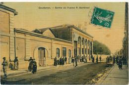 BORDEAUX CAUDERAN - Sortie De L'Usine P. Bardinet - Bordeaux