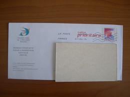 Enveloppes PAP Prioritaire Rouge 110x220  Avec Illustration SAUVEGARDE DE L ENFANCE - PAP : Altri (1995-...)