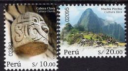 Peru - 2019 - Traditional Culture - Chavin And Inca - Mint Stamp Set - Peru