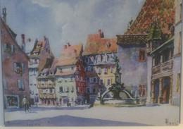 DH-8- HANSI L ALSACE MERVEILLEUSE COLMAR PLACE DE L ANCIENNE DOUANE - Alsace