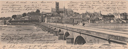 N° 9290 R -carte Double Grand Format Nevers Panorama- - Nevers