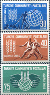 Ref. 632898 * HINGED *  - TURKEY . 1963. WORLD CAMPAIGN AGAINST HUNGER. CAMPA�A MUNDIAL CONTRA EL HAMBRE - Non Classificati