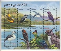 Ref. 595617 * NEW *  - UGANDA . 1999. BIRDS OF UGANDA. AVES DE UGANDA - Uganda (1962-...)