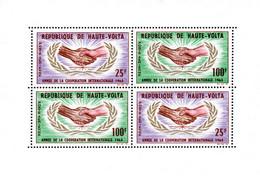 Ref. 91110 * NEW *  - UPPER VOLTA . 1965. YEAR OF INTERNATIONAL COOPERATION. A�O DE LA COOPERACION INTERNACIONAL - Alto Volta (1958-1984)