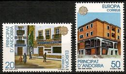 Andorra (Spanische Post)1990  Mi.Nr. 214 / 215 , EUROPA CEPT Postalische Einrichtungen - Postfrisch / MNH / (**) - 1990