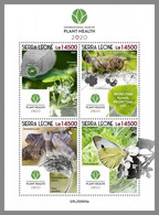 SIERRA LEONE 2020 MNH Butterfly Insects Schmetterling Insekten Papillon Plant Health M/S - OFFICIAL ISSUE - DHQ2047 - Butterflies