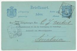 Briefkaart G. 10 Particulier Bedrukt Weltevreden 1899 - Indes Néerlandaises