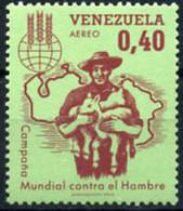 Ref. 207581 * NEW *  - VENEZUELA . 1963. WORLD CAMPAIGN AGAINST HUNGER. CAMPA�A MUNDIAL CONTRA EL HAMBRE - Venezuela
