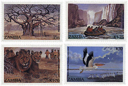 Ref. 34262 * NEW *  - ZAMBIA . 1987. TOURISM. TURISMO - Zambia (1965-...)