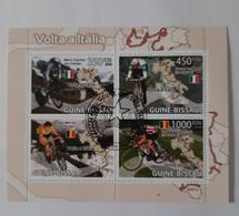 N° 2822 à 2825       Cyclisme  -  Tour D' Italie  -  Oblitérés - Guinea-Bissau