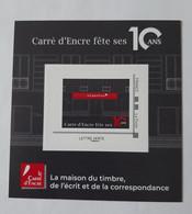 Collector Carré D' Encre Fête Ses 10 Ans  -  Neuf - Collectors