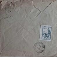 N° 257       Jeanne D' Arc Oblitéré Vaucouleurs 1929 Plus Vignette Fête De Jeanne D' Arc - Cartas