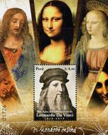 Peru - 2019 - Leonardo Da Vinci - 500th Death Anniversary - Mint Souvenir Sheet - Perú