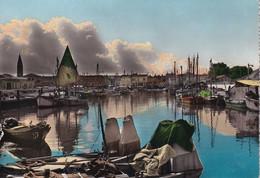 458 - Italien - Caorle , Darsana , Binnenhafen , Fischereigenossenschaft , Boot - Gelaufen 1962 - Venezia