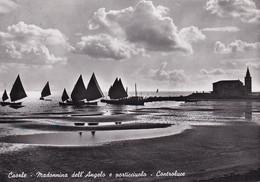 459 - Italien - Caorle , Madonnina Dell Angelo E Porticciuolo Controluce , Jungfrau Der Endelkirche , Hafen , Boot - Gel - Venezia