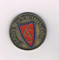 Clermont-ferrand  -  Médaille - Bronze - STADE  CLERMONTOIS - Centre émaillé - Vintage Sport - Other