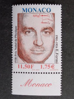 MONACO 2001 Y&T N° 2316 ** - PORTRAIT D'ENRICO FERMI - Unused Stamps
