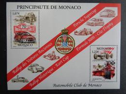 MONACO 2002 BLOC Y&T N° 86 ** - 70e RALLYE DE MONTE CARLO - Unused Stamps