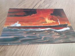 """Postcard - Ship, """"Centra Norma""""         (V 35064) - Commercio"""