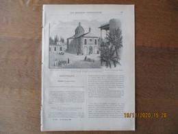 LES MISSIONS CATHOLIQUES DU 22 NOVEMBRE 1895 MESOPOTAMIE,BAGDAD,NORVEGE,URUA,UN TERRIBLE HIVER EN MANDCHOURIE - Riviste - Ante 1900