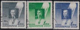 Russland     ,    Yvert    .    PA 67/69     .     O    .        Gebraucht  .    /   .    Cancelled - Gebraucht
