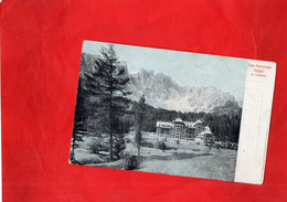G1911 - ALLEMAGNE - Das Karersee Hôtel M. Latemar - Other