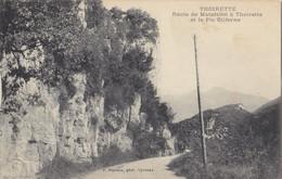 39  Jura  -  Thoirette  -  Route  De  Mtafelon  à  Thoirette  Et  Le  Pic  Oliferne - Other Municipalities