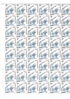 ESPAÑA. Año 1983. Juan Pablo II. Pliego De 100 Sellos Y Bloque De 4 Sellos. - 1981-90 Unused Stamps