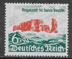 Germania Deutsches Reich 1940 Helgoland Mi N.750 MH * - Ongebruikt