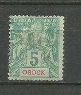 Timbre Colonie Française Obock Neuf *  N   35 - Ungebraucht