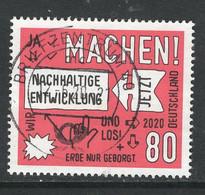 Duitsland 2020, Mi 3525,   Mooi  Gestempeld - Gebruikt
