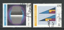 Duitsland 2020, Mi 3536-37 Reeks,  Hogere Waarde,  Gestempeld - Used Stamps